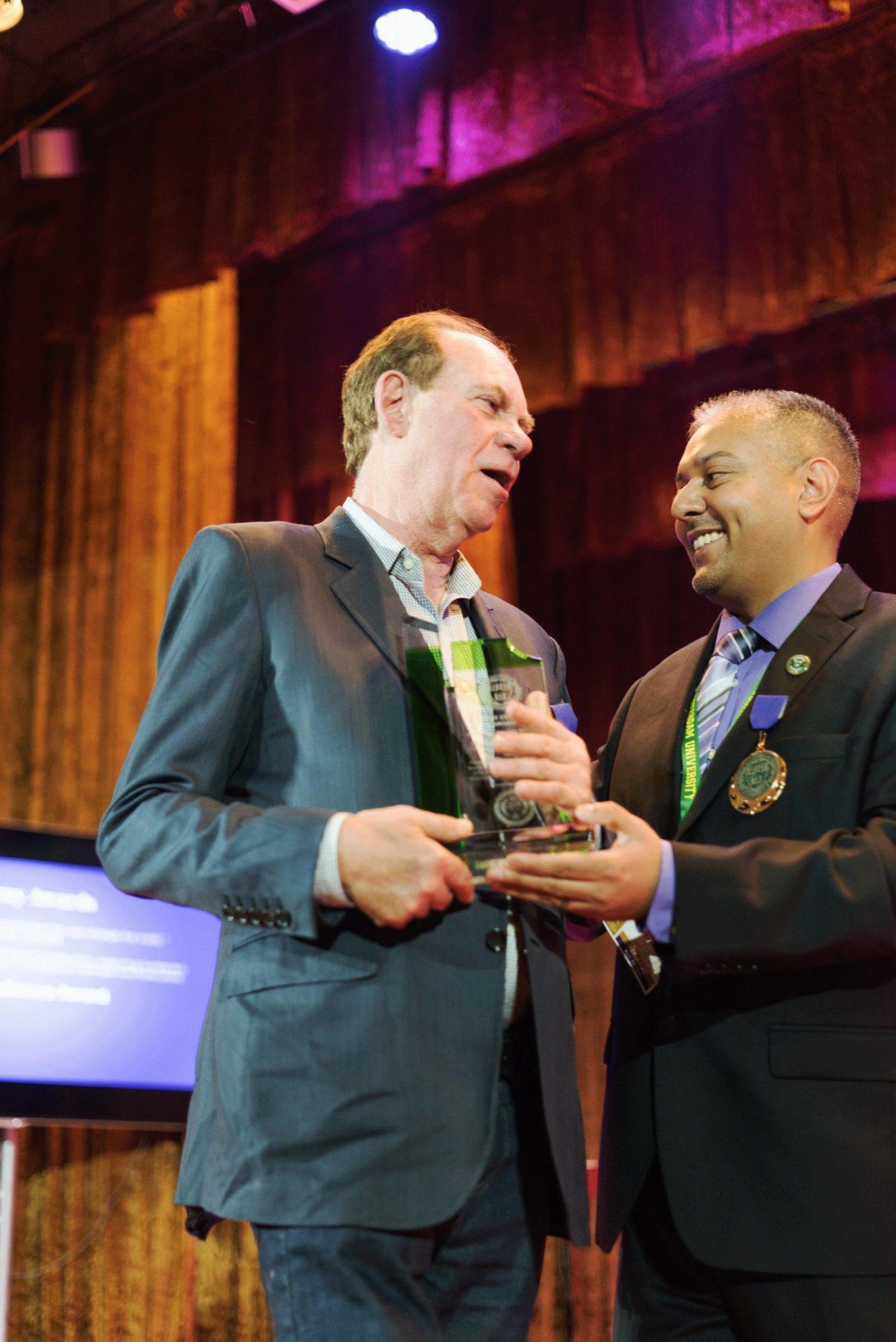 Ed Rosenthal & Dr. Aseem Sappal (Photo: Morgan Vannavilaithong)