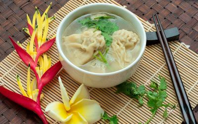 Cannabis-Infused Wonton Soup for Chinese New Year