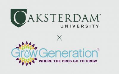OU & GrowGen Announce Industry Educational Partnership